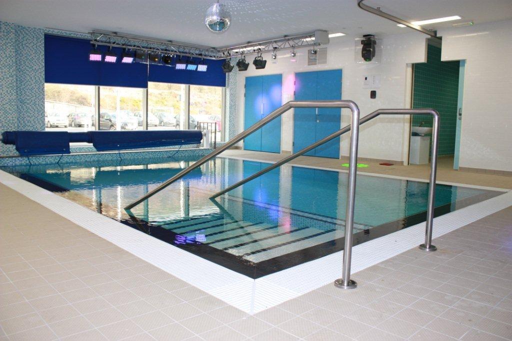 Facilities pen y cwm school for Hydroponic pool